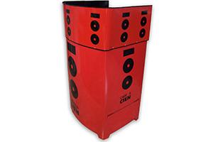 Son productos publicitarios / promocionales portátiles muy útiles en eventos, ferias, exposiciones, etc...