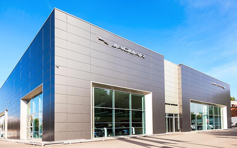 fachada composite jaguar